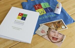 Informationstasche der KinderWillkommen-Besuche