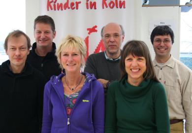 Team Aufsuchende Familientherapie: Thomas Brach, Stefan Hauschild, Renate Löchel, Gabriele Schröder-Hoffmann, Jürgen Pfitzner, Luis Vega Lechermann