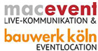 Logo macevent macbauwwerk