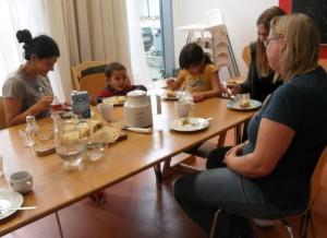 Einladung zujm Ankommen - Gruppenangebot für Flüchtlingsfamilien