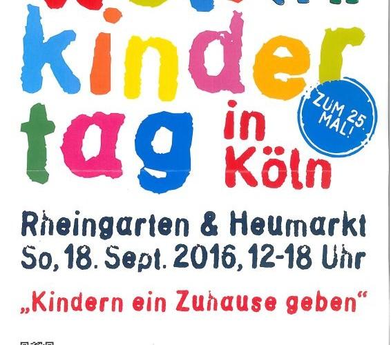 Poster Kölner Weltkindertag-Fest 2016