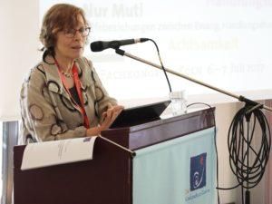 Fachliche Einführung Renate Blum-Maurice