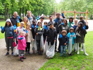 Müllsammel-Aktion in Humboldt-Gremberg mit Bürgermeister Marco Pagano