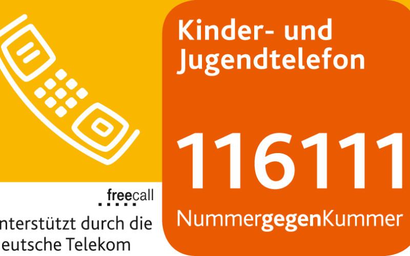 Das Logo des Kinder- und Jugendtelefons