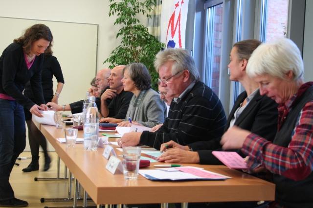 Podium des Fachtags 2011
