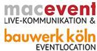 Logo macevent macbauwwerk
