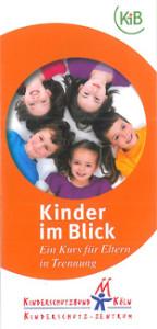 """Flyer """"Kinder im Blick"""""""