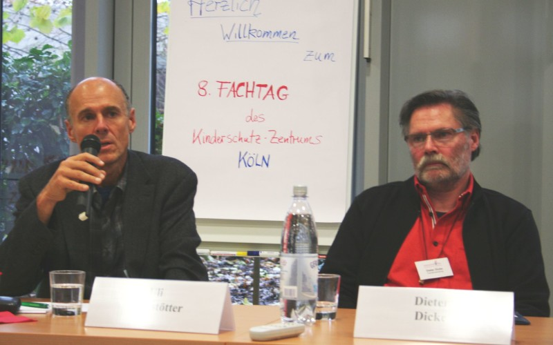 Podium Herr Alberstötter und Herr Dicke