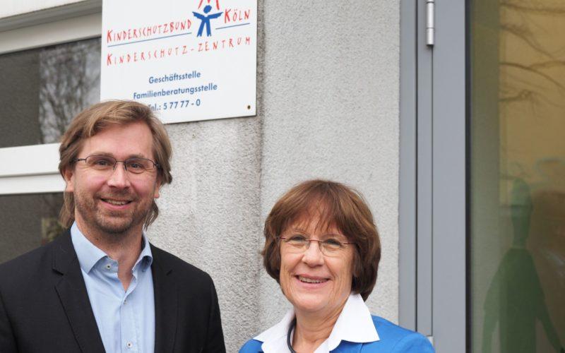 Neuer Geschäftsführer Lars Hüttler mit Barbara Zaabe