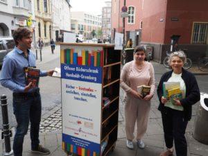 Zweiter Bücherschrank der Sozialraumkoordination Ecke Antonia-/Trimbornstraße