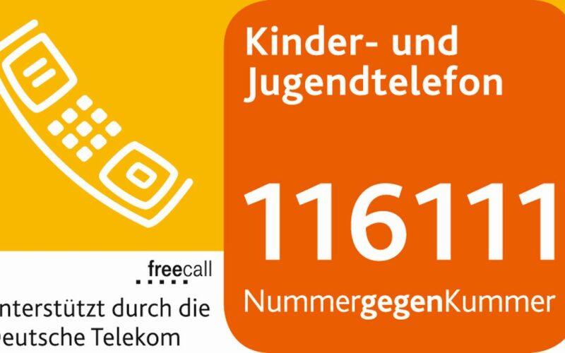 Logo des Kinder- und Jugendtelefons