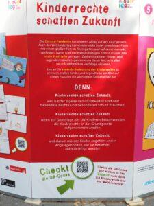 Infoposter Kinderrechte schaffen Zukunft