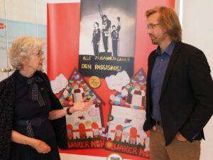 Lars-Hüttler mit Schirmherrin Hedwig Neven DuMont