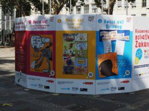 Poster zu den Kinderrechten informieren zum Weltkindertag 2020