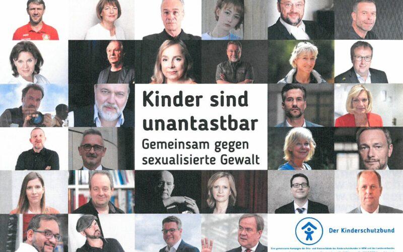 Poster prominente Unterstützer*innen der Kampagne